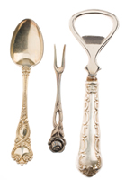 Antique Silverware Collection